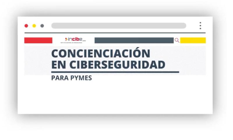 Kit de concienciación para empresas sobre seguridad informática de INCIBE